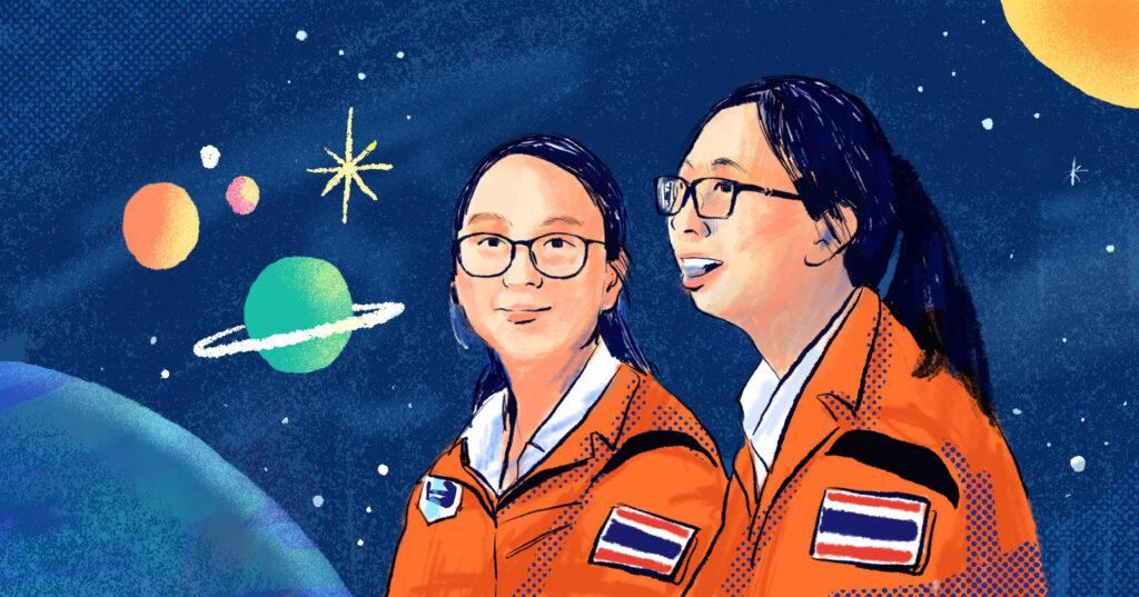 ไอเดีย – ไอซี : เส้นทางสู่ 'อวกาศ' ของเด็กไทยที่เริ่มต้นจากนิทาน จินตนาการ และการเรียนรู้ โดยไม่หยุดแค่คำว่า… เป็นไปไม่ได้