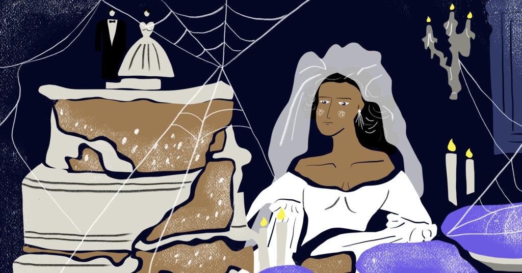 นาฬิกาและเค้กแต่งงานของมิส ฮาวิชแฮม: บาดแผลที่หยุดเวลาเอาไว้และภาพทุกข์ในใจที่ถูกฉายซ้ำ