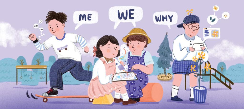 เอาชนะอัลกอริทึม (1) : Me, We และ Why ติดทักษะการจัดการตัวเอง เตรียมพร้อมเด็กสำหรับโลกที่เปลี่ยนไป